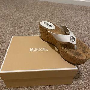 Michael Kors sandal wedges